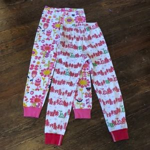 Hanna Andersson Loy of 2 pajama bottoms 6-7 120